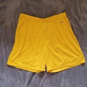 Vintage Yellow Champion Shorts